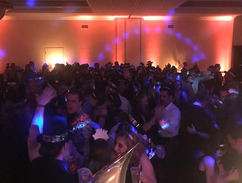 Grand Hall Packed Dance Floor