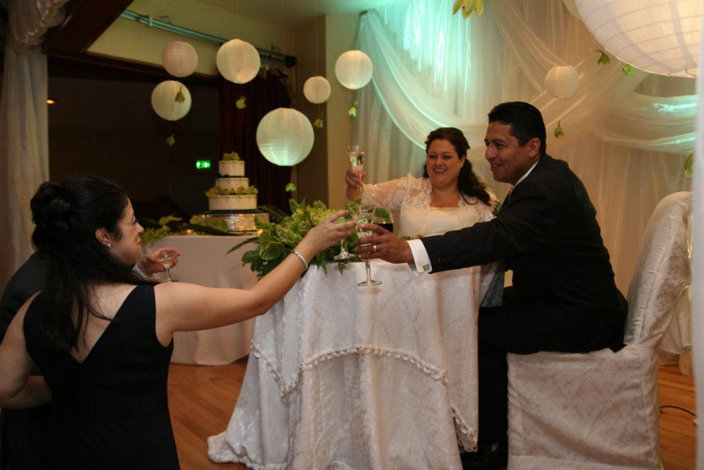 Wedding Reception Quiceanera Event at ADES