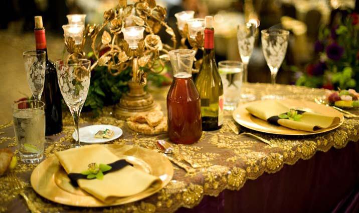 Grand Hall ADES Wedding Tablescape
