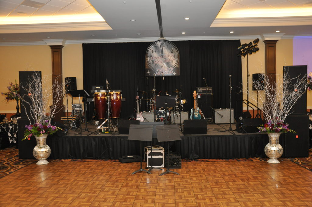 Grand Hall Stage and Dance Floor